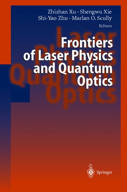 Cover of 'Frontiers of Laser Physics and Quantum Optics'