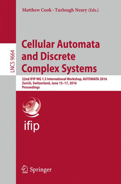 Cover of 'Cellular Automata and Discrete Complex Systems'