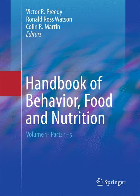 Cover of 'Handbook of Behavior, Food and Nutrition'