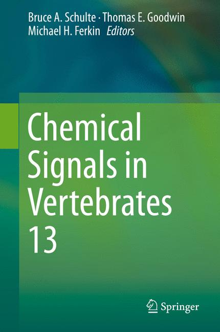 Cover of 'Chemical Signals in Vertebrates 13'