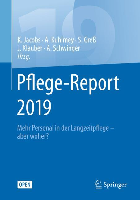 Cover of 'Pflege-Report 2019'