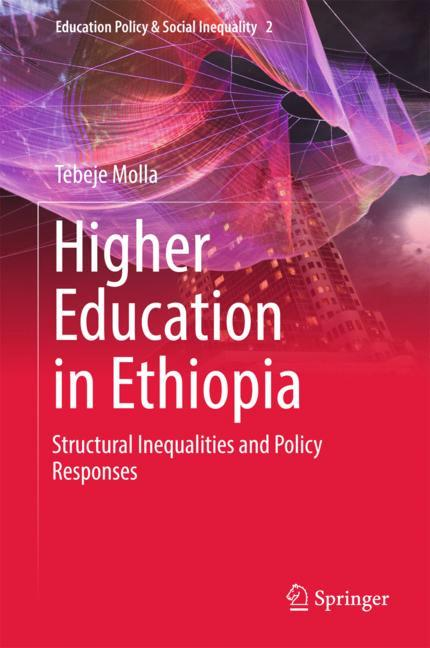 Cover of 'Higher Education in Ethiopia'