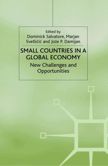 Cover of 'Small Countries in a Global Economy'