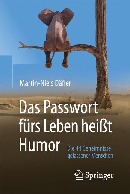 Cover of 'Das Passwort fürs Leben heißt Humor'