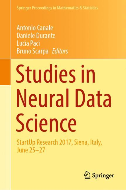 Cover of 'Studies in Neural Data Science'