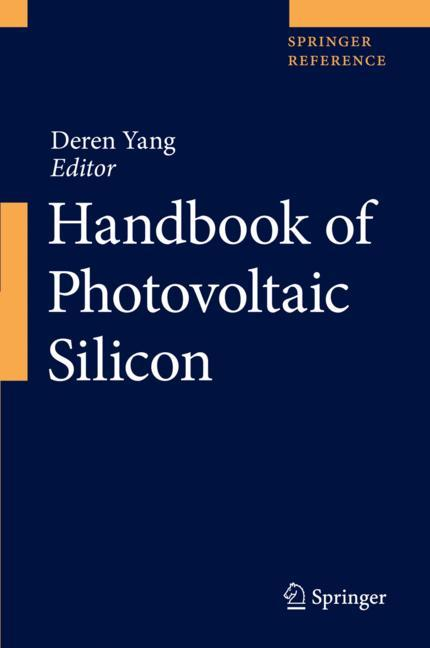 Cover of 'Handbook of Photovoltaic Silicon'
