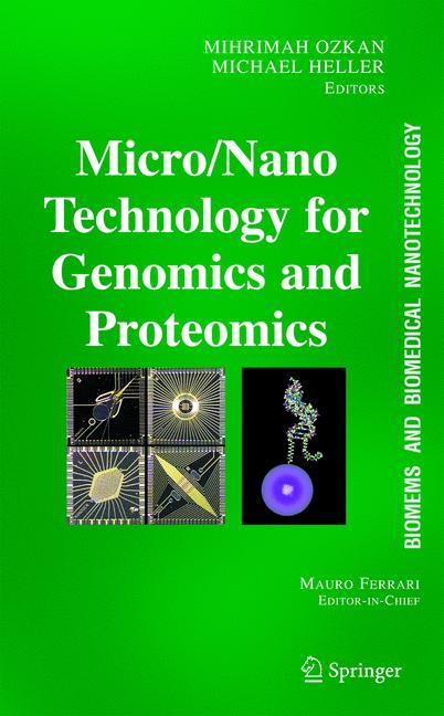 Cover of 'BioMEMS and Biomedical Nanotechnology'