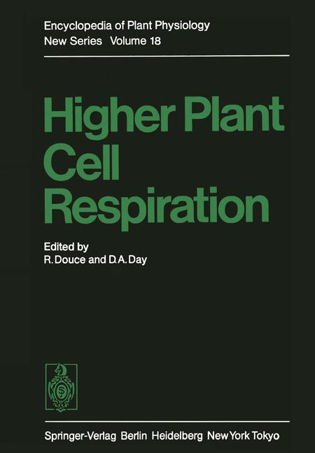 Cover of 'Higher Plant Cell Respiration'
