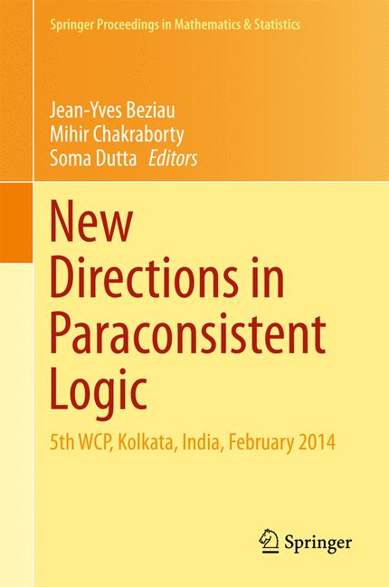 Cover of 'New Directions in Paraconsistent Logic'
