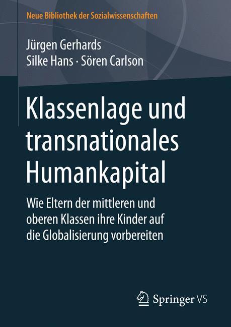 Cover of 'Klassenlage und transnationales Humankapital'