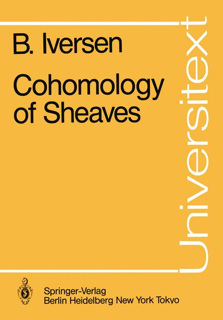 Cover of 'Cohomology of Sheaves'