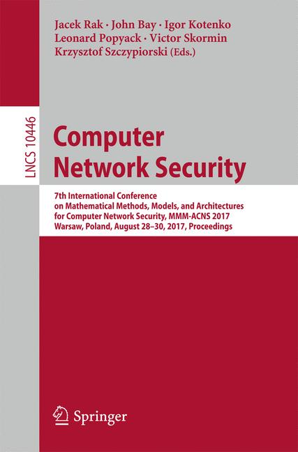 Cover of 'Computer Network Security'