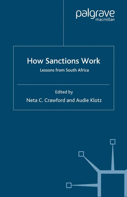 Cover of 'How Sanctions Work'