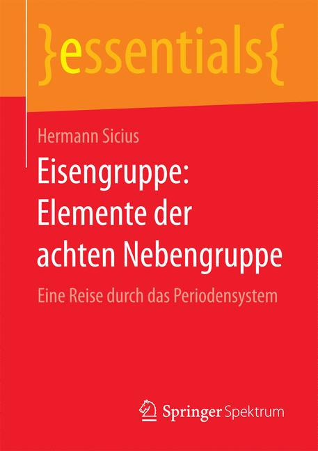 Cover of 'Eisengruppe: Elemente der achten Nebengruppe'