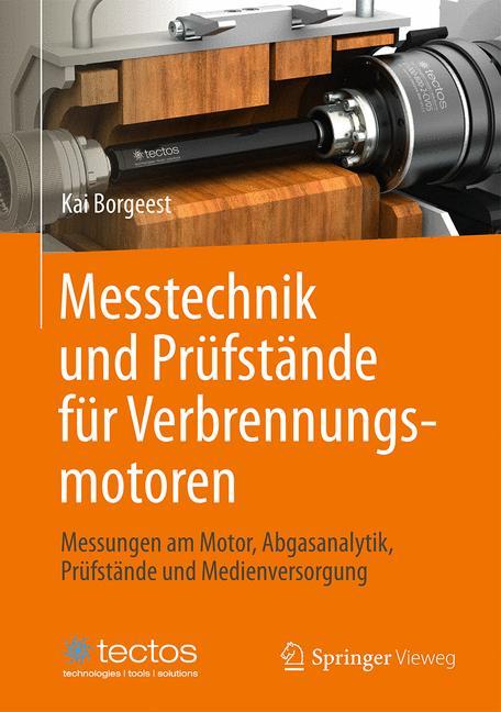 Cover of 'Messtechnik und Prüfstände für Verbrennungsmotoren'
