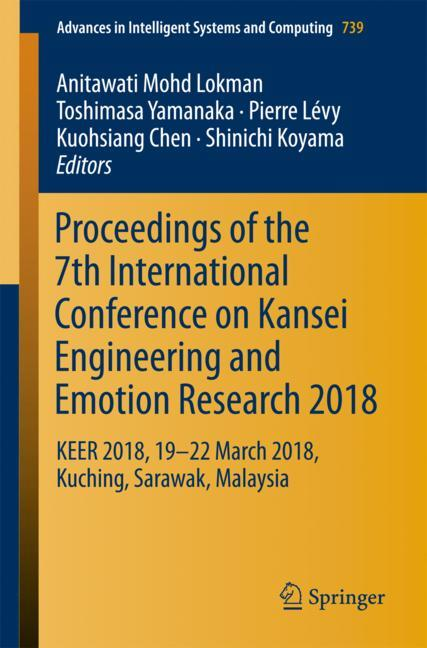 Cover of 'Proceedings of the 7th International Conference on Kansei Engineering and Emotion Research 2018'