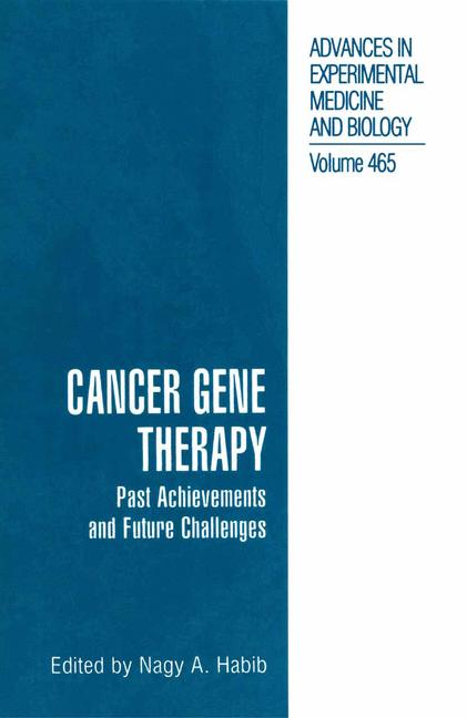 Cover of 'Cancer Gene Therapy'
