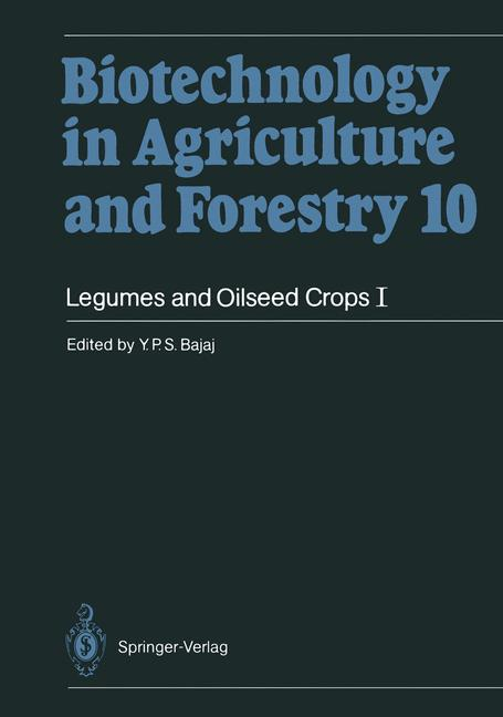 Cover of 'Legumes and Oilseed Crops I'