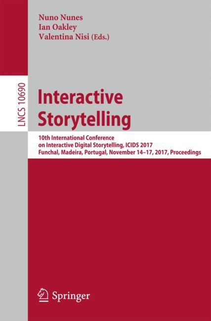 Cover of 'Interactive Storytelling'