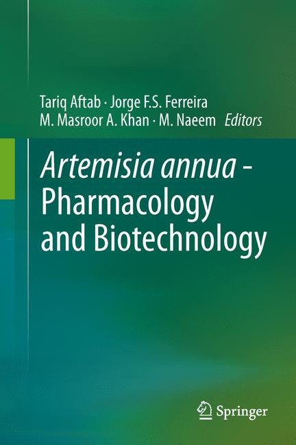Cover of 'Artemisia annua - Pharmacology and Biotechnology'