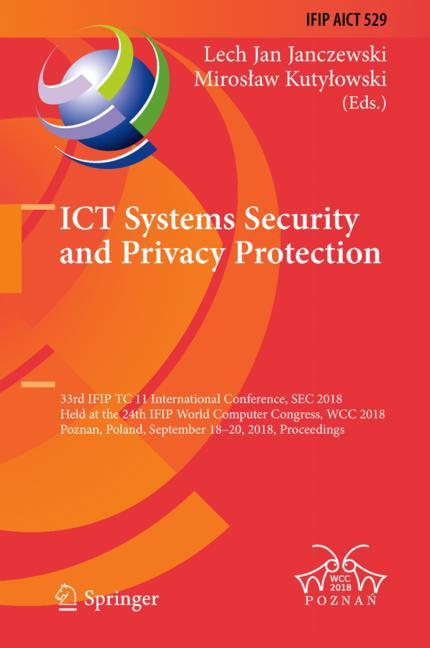 Cover of 'ICT Systems Security and Privacy Protection'
