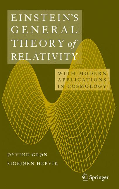 Cover of 'Einstein's General Theory of Relativity'