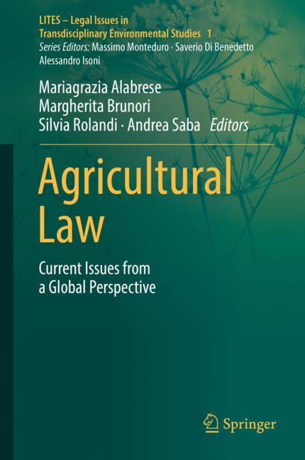 Cover of 'Agricultural Law'
