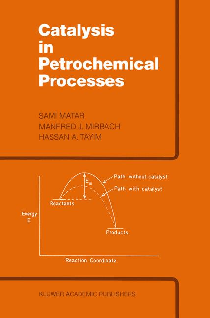 Cover of 'Catalysis in Petrochemical Processes'