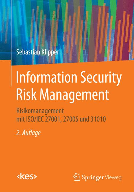 Cover of 'Information Security Risk Management'