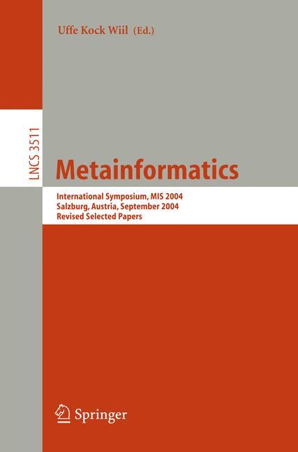 Cover of 'Metainformatics'