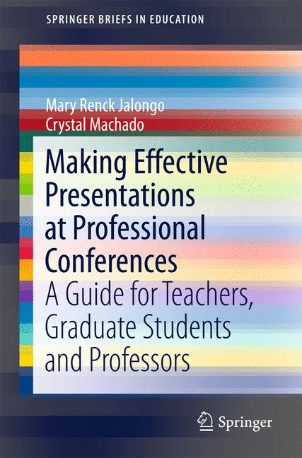 Cover of 'Making Effective Presentations at Professional Conferences'