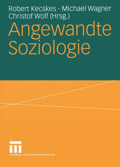 Cover of 'Angewandte Soziologie'