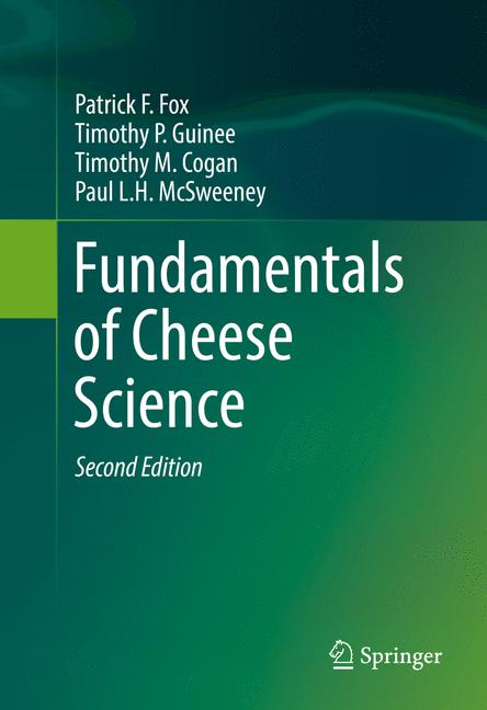 Cover of 'Fundamentals of Cheese Science'