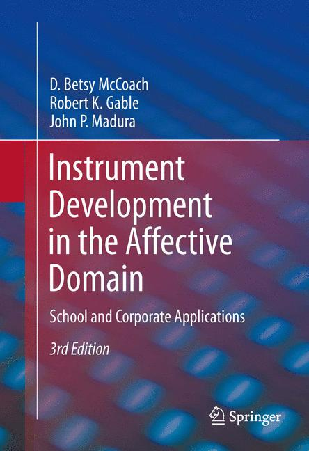 Cover of 'Instrument Development in the Affective Domain'