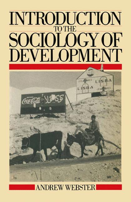 Cover of 'Introduction to the sociology of development'