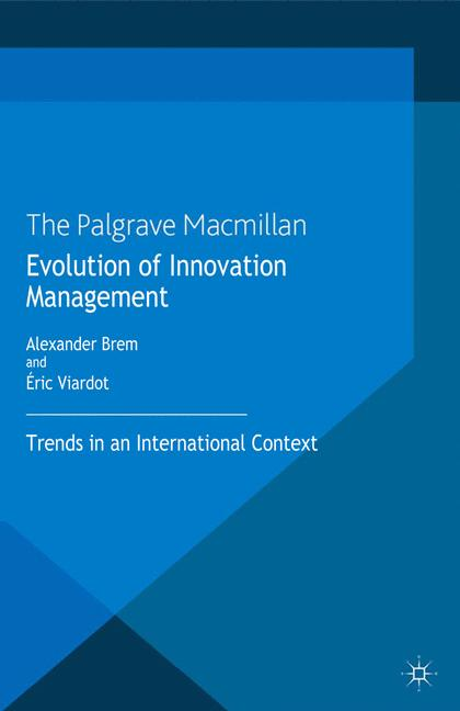 Cover of 'Evolution of Innovation Management'