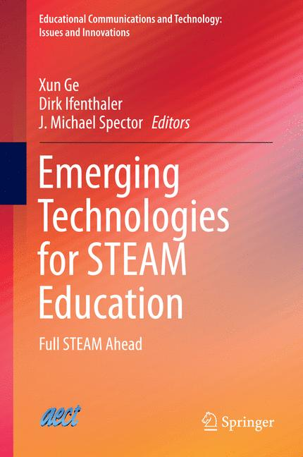 Cover of 'Emerging Technologies for STEAM Education'