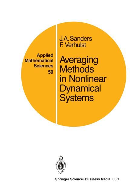 Cover of 'Averaging methods in nonlinear dynamical systems'