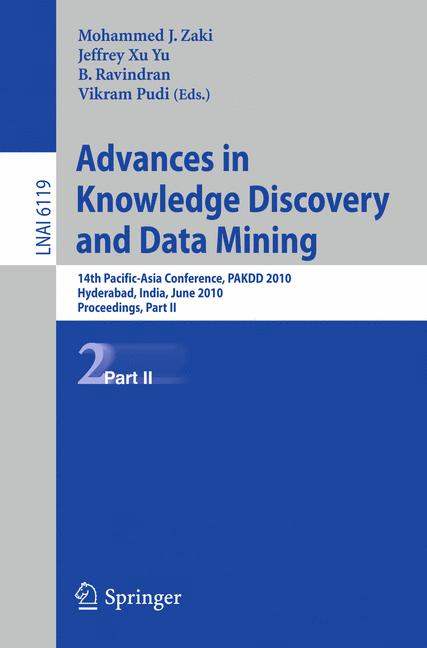 Cover of 'Advances in Knowledge Discovery and Data Mining, Part II'
