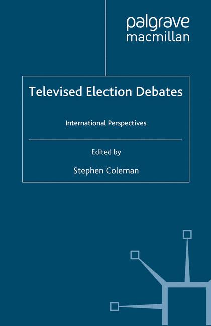 Cover of 'Televised Election Debates'