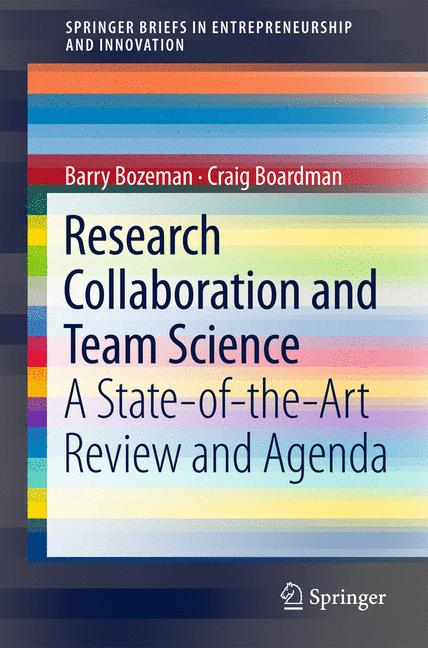 Cover of 'Research Collaboration and Team Science'
