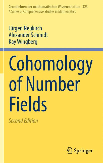 Cover of 'Cohomology of number fields'