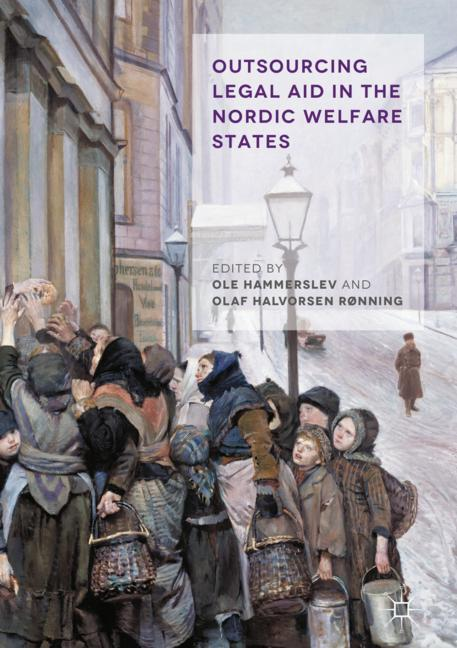 Cover of 'Outsourcing Legal Aid in the Nordic Welfare States'