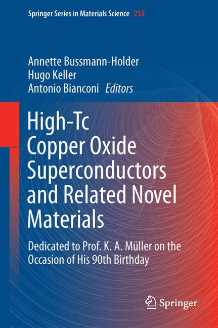 Cover of 'High-Tc Copper Oxide Superconductors and Related Novel Materials'