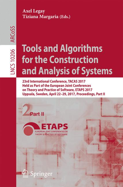 Cover of 'Tools and Algorithms for the Construction and Analysis of Systems'
