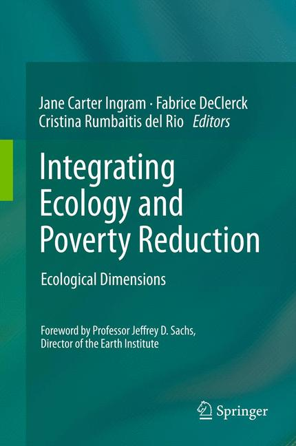 Cover of 'Integrating Ecology and Poverty Reduction'