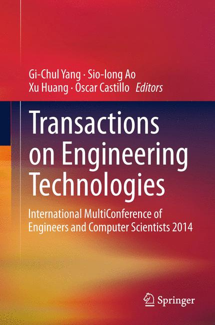 Cover of 'Transactions on Engineering Technologies'