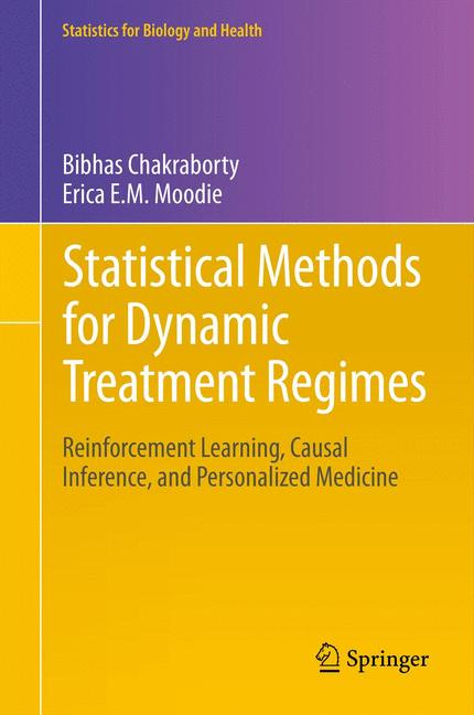 Cover of 'Statistical Methods for Dynamic Treatment Regimes'