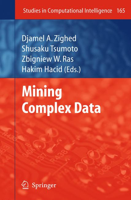 Cover of 'Mining Complex Data'