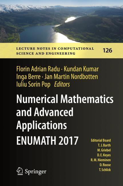 Cover of 'Numerical Mathematics and Advanced Applications ENUMATH 2017'